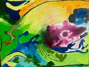 002 lucy campanella painting eradicating corona virus19