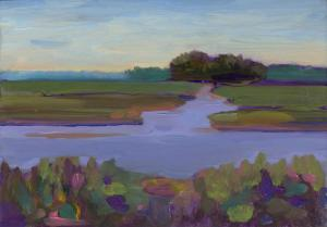 008 helene condouris painting river view