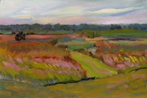 009 helene condouris painting windy meadow
