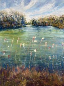 036 daphne hobson painting serenity