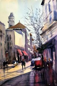 082 deborah redden painting street life